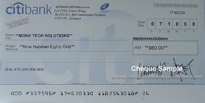 Any one have trouble depositing wedding checks written to